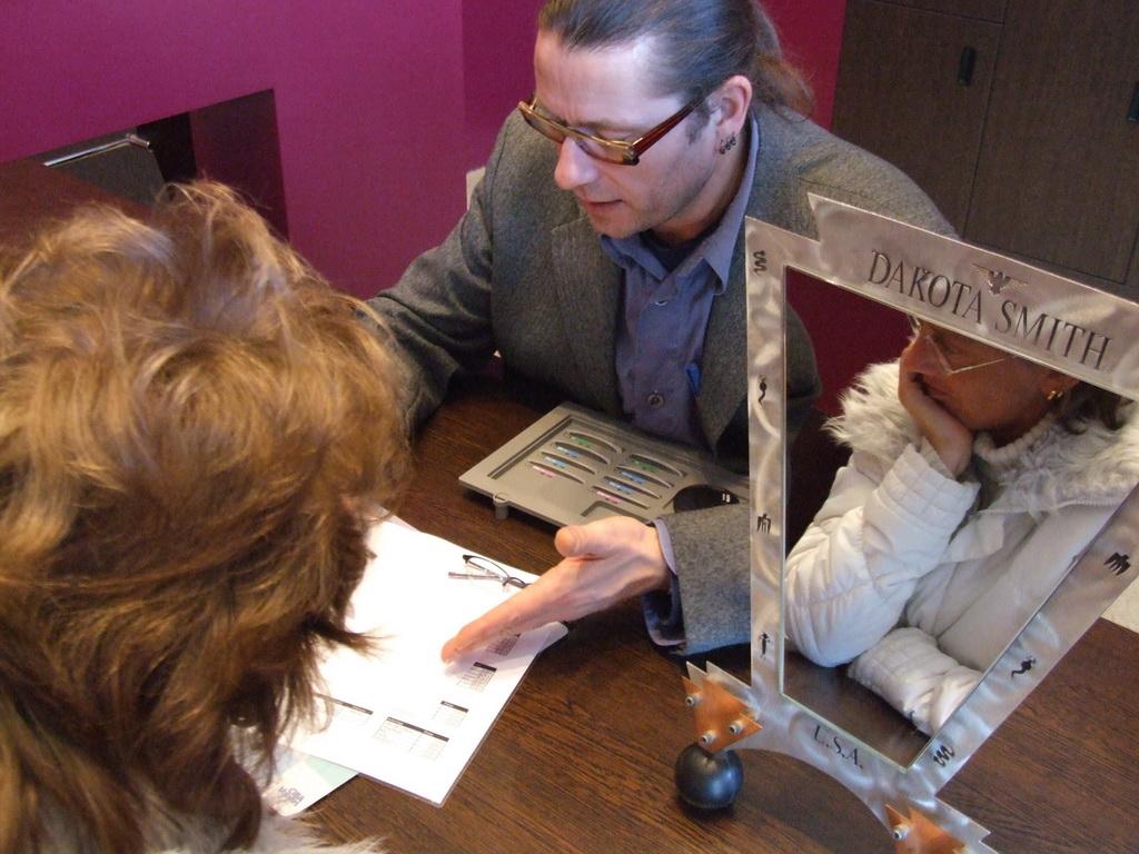 Rügener Optiker Kundenberatung