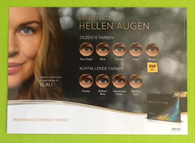 Air Optix Colors bei heller Augenfarbe Der Preis für die 2er Box 25,90 € pro Linse 12,95 €